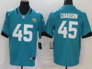 Mens Nfl Jacksonville Jaguars #45 K'lavon Chaisson Green Vapor Untouchable Limited Jersey
