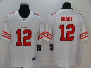Mens Nfl Tampa Bay Buccaneers #12 Tom Brady White Team Logo Cool Edition Vapor Untouchable Limited Jersey
