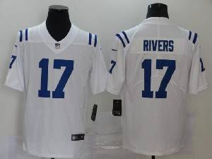 Mens Nfl Indianapolis Colts #17 Philip Rivers 2020 White Vapor Untouchable Limited Jersey