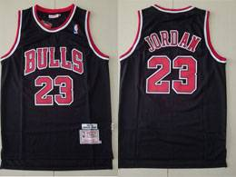Mens Nba Chicago Bulls #23 Michael Jordan Black 1997-98 Mitchell&ness Hardwood Classics Jersey