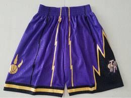 Mens Nba Toronto Raptors Purple Limited Edition Shorts