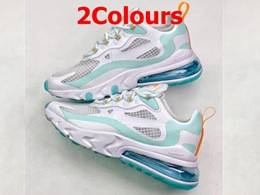 Mens And Women Nike Air Max 270 React Running Shoes 2 Colors