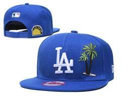 Mens Mlb Los Angeles Dodgers Snapback Adjustable Flat Hats 3 Style