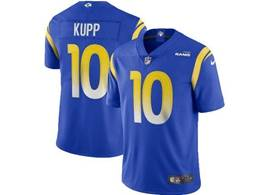 Mens Nfl Los Angeles Rams #10 Cooper Kupp 2020 Blue Vapor Untouchable Limited Jersey