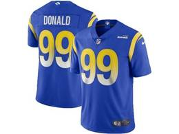 Mens Nfl Los Angeles Rams #99 Aaron Donald 2020 Blue Vapor Untouchable Limited Jersey