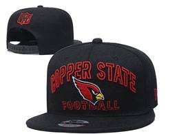 Mens Nfl Arizona Cardinals Black Team Patch City Name Snapback Adjustable Flat Hats