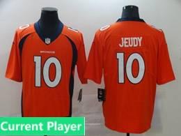 Mens Women Youth Nfl Denver Broncos 2020 Orange Current Player Vapor Untouchable Limited Jersey