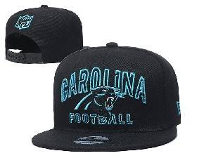 Mens Nfl Carolina Panthers Black Team Patch City Name Snapback Adjustable Flat Hats