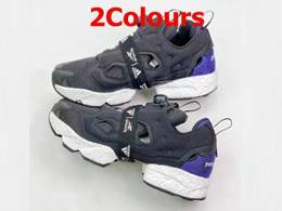 Mens And Women Adidas X Reebok Instapump Fury Boost Prototype Running Shoes 2 Colors