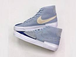 Mens And Women Nike Sb Blazer Mid Edge Hack Pack Running Shoes One Color