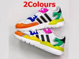 Mens And Women Adidas Nite Jogger 2020 Boost Running Shoes 2 Colors