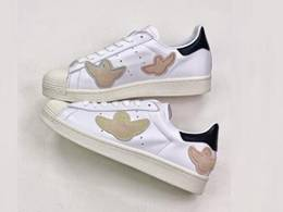 Mens And Women Mark Gonzales X Adidas Superstar Shmoo Running Shoes One Color