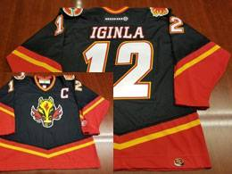 Koho Calgary Flames Custom Made Red Black Jersey