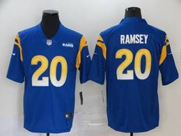 Mens Nfl Los Angeles Rams #20 Jalen Ramsey 2020 Blue Vapor Untouchable Limited Jersey