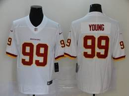 Mens Nfl Washington Redskins #99 Chase Young 2020 White Vapor Untouchable Limited Jerseys