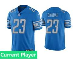 Mens Women Youth Nfl Detroit Lions 2020 Blue Current Player Vapor Untouchable Limited Jersey