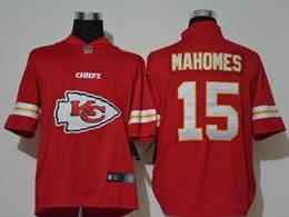 Mens Nfl Kansas City Chiefs #15 Patrick Mahomes 2020 Red Fashion Big Logo Vapor Untouchable Limited Jerseys
