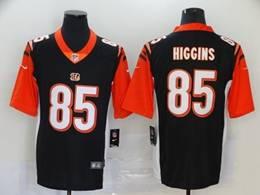 Mens Nfl Cincinnati Bengals #85 Tee Higgins 2020 Black Vapor Untouchable Limited Jersey