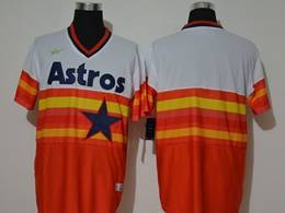 Mens Mlb Houston Astros Blank 2020 Orange Pullover Cool Base Nike Jersey