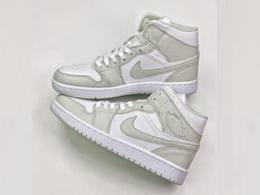 Mens And Women Nike Air Jordan1 Low Aj1 Mid Running Shoes One Color