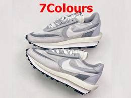 Mens And Women Sacai X Nike Lvd Waffle Daybreak Running Shoes 7 Colors