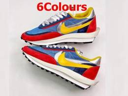 Mens And Women Sacai X Nike Lvd Waffle Daybreak Running Shoes 6 Colors
