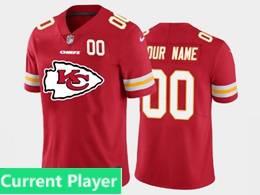 Mens Nfl Kansas City Chiefs Current Player Red 2020 Fashion Logo Vapor Untouchable Jersey