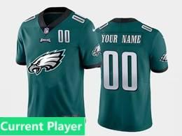 Mens Nfl Philadelphia Eagles Current Player Green 2020 Fashion Logo Vapor Untouchable Jersey