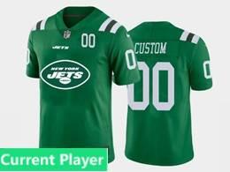 Mens Nfl New York Jets Current Player Green Fashion Logo Vapor Untouchable Jersey