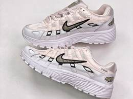 Women Nike P-6000 Running Shoes White Color