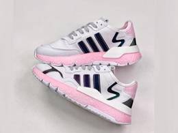 Women Adidas Nite Jogger 2020 Boost Running Shoes Pink Color