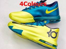 Mens Nike Kd6 Running Shoes 4 Colors