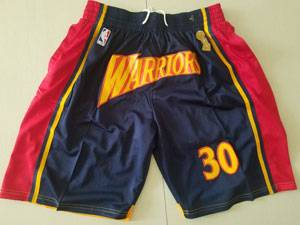 Mens Nba Golden State Warriors Blue Nike Just Don Pocket Shorts
