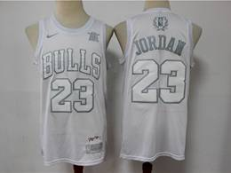 Mens Nba Chicago Bulls #23 Michael Jordan White 2020 Mvp Nike Swingman Jersey