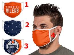 Mens Nhl Edmonton Oilers Face Mask Protection 4 Styles