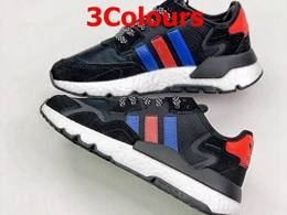 Mens And Women Adidas Nite Jogger 2020 Boost 3m Running Shoes 3 Colors