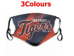 Mlb Detroit Tigers Face Mask Protection 3 Styles