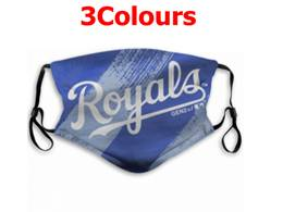 Mlb Kansas City Royals Face Mask Protection 3 Styles