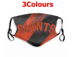 Mlb San Francisco Giants Face Mask Protection 3 Styles