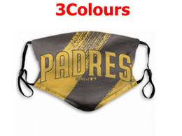 Mlb San Diego Padres Face Mask Protection 3 Styles