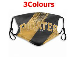 Mlb Pittsburgh Pirates Face Mask Protection 3 Styles