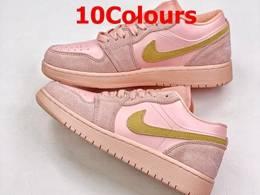 Mens And Women Nike Air Jordan1 Low Aj1 Running Shoes 10 Colors