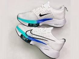 Mens Nike Air Zoom Alphafly Next% Running Shoes White Color