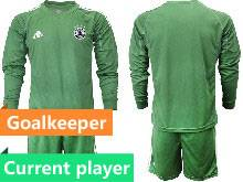 Mens Soccer Germany Ntaional Team Current Player 2021 European Cup Goalkeeper Long Sleeve Suit Jersey Green Red Purple Gray Blue Black 6 Colors