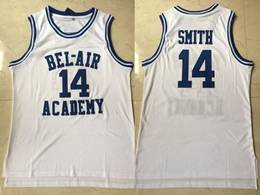 Mens Nba Movie #14 Will Smith White Mesh Jersey