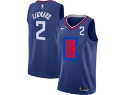 Mens Nba Los Angeles Clippers #2 Kawhi Leonard Blue 2020 Swingman Statement Edition Nike Jersey