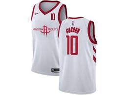 Mens Nba Houston Rockets #10 Eric Gordon White 2020 New Swingman Nike Jersey