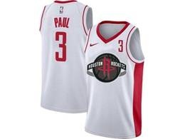 Mens Nba Houston Rockets #3 Chris Paul White Swingman Nike Jersey