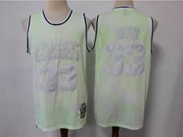 Mens Nba Boston Celtics #33 Larry Bird Light Green Printing Mitchell&ness Swingman Nike Jersey