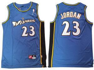 Mens Nba Washington Wizards #23 Michael Jordan Blue Swingman Nike Jersey